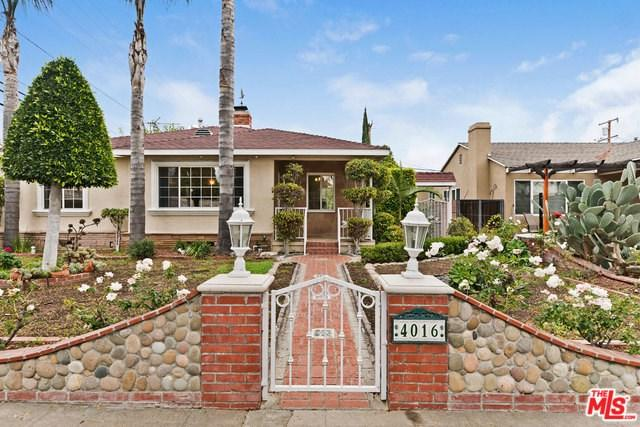 4016 Albright Avenue, Culver City, CA 90066 (#18414196) :: Fred Sed Group