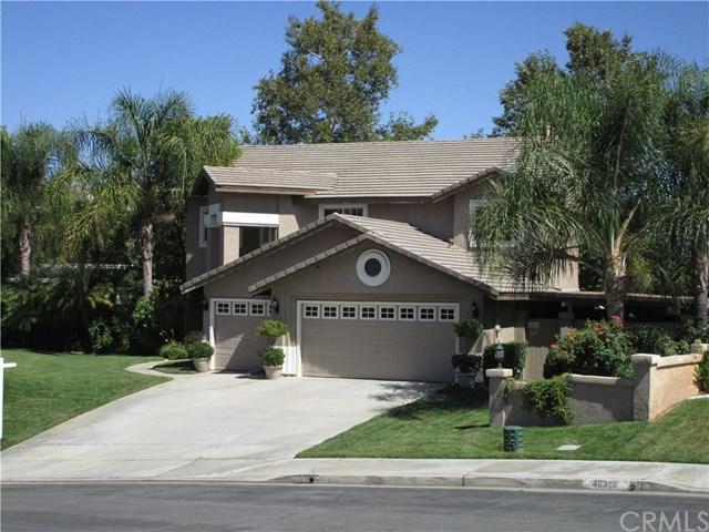 40334 Calle Katerine, Temecula, CA 92591 (#SW18296748) :: The Laffins Real Estate Team