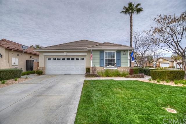 26168 Desert Rose Lane, Menifee, CA 92586 (#SW19033413) :: The Laffins Real Estate Team