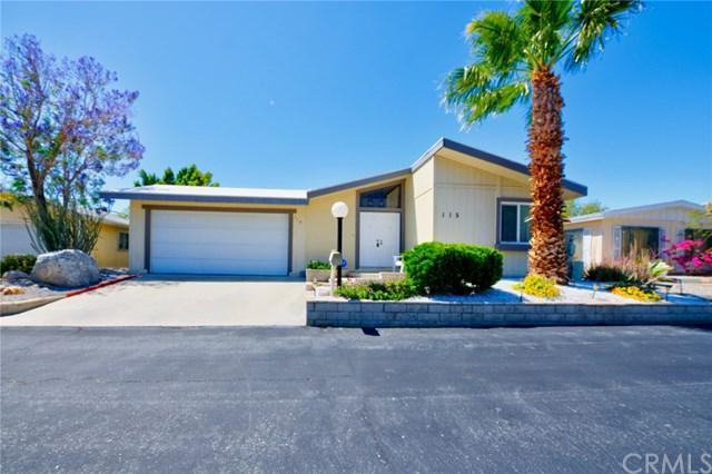 65565 Acoma Avenue #115, Desert Hot Springs, CA 92240 (#CV19104218) :: California Realty Experts