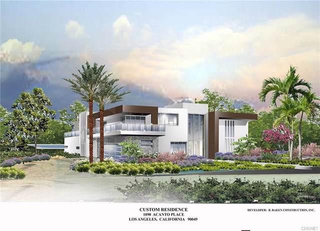 1090 Acanto Place, Los Angeles (City), CA 90049 (#SR19192700) :: Veléz & Associates