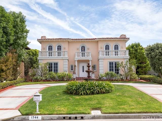 1744 Paseo Del Mar, Palos Verdes Estates, CA 90274 (#WS19224697) :: Millman Team