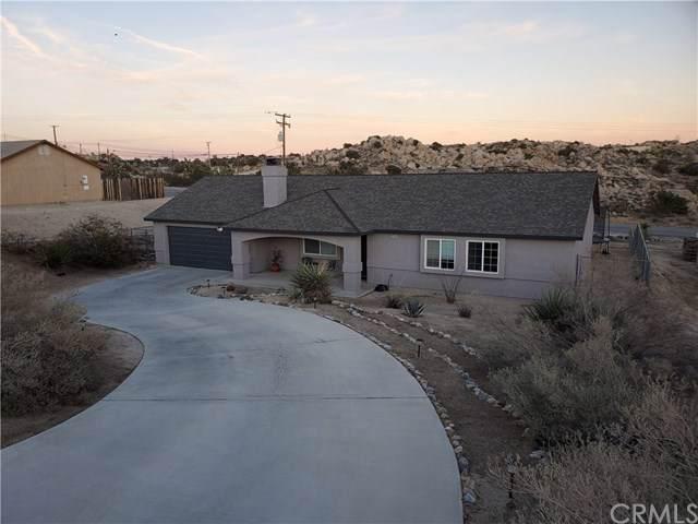 5749 Buena Suerte Road, Yucca Valley, CA 92284 (#JT20014906) :: Allison James Estates and Homes