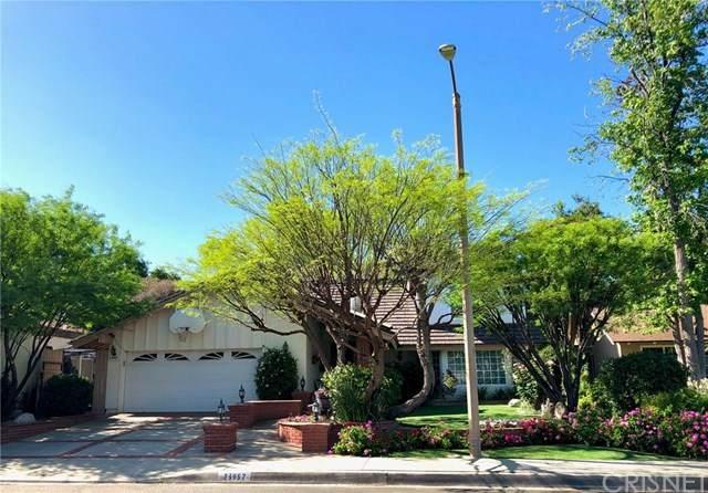 23957 Via Bocina, Valencia, CA 91355 (#SR20077949) :: American Real Estate List & Sell