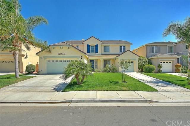 14455 Sleepy Creek Drive, Eastvale, CA 92880 (#TR20125372) :: The DeBonis Team