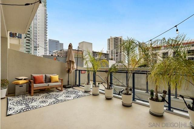 875 G St #213, San Diego, CA 92101 (#200037918) :: Sperry Residential Group