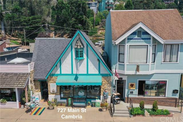 727 Main Street, Cambria, CA 93428 (#SC20165506) :: Crudo & Associates