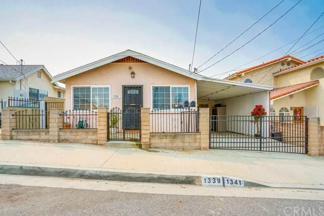 1339 W 4th Street, San Pedro, CA 90732 (#SB20184051) :: The Laffins Real Estate Team