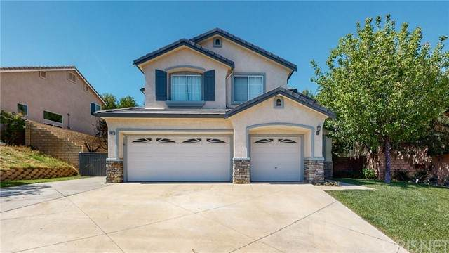 21627 Rose Canyon Lane, Saugus, CA 91390 (#SR21093009) :: The Brad Korb Real Estate Group