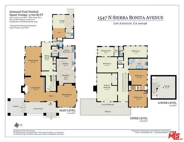1547 N Sierra Bonita Avenue, Los Angeles (City), CA 90046 (MLS #21748892) :: Desert Area Homes For Sale