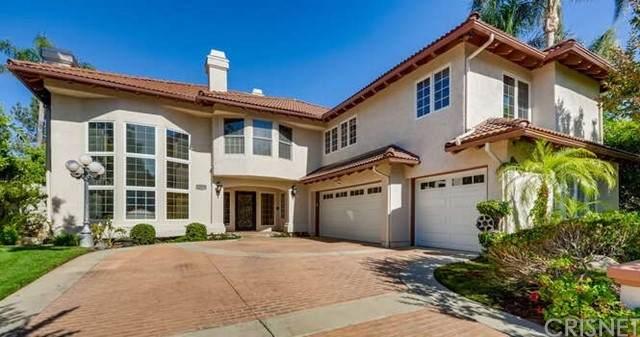 18675 Hillsboro Road, Porter Ranch, CA 91326 (#SR21130565) :: Zember Realty Group