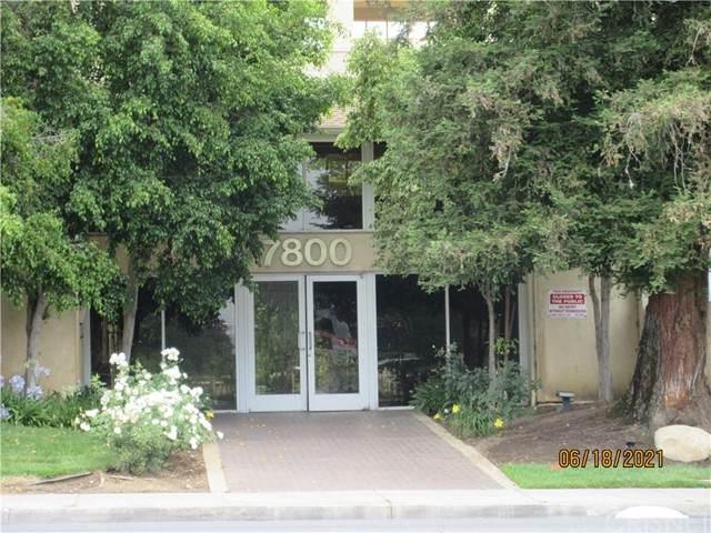 7800 Topanga Canyon Boulevard #214, Canoga Park, CA 91304 (#SR21132392) :: RE/MAX Empire Properties