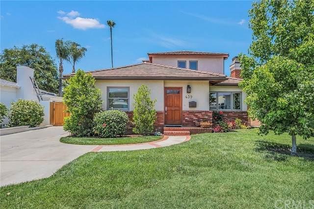 439 S Mariposa Street, Burbank, CA 91506 (#BB21132325) :: The Miller Group
