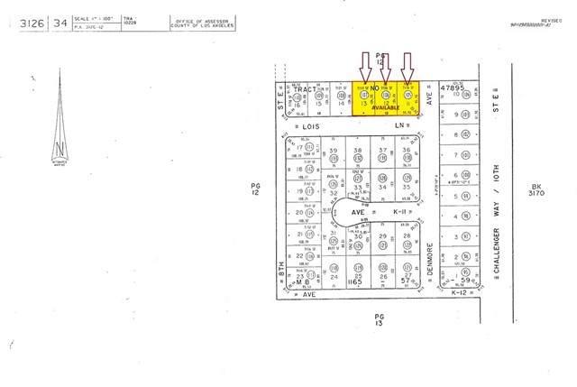 0 Lois Lane, Lancaster, CA 93535 (#CV21112697) :: Zen Ziejewski and Team