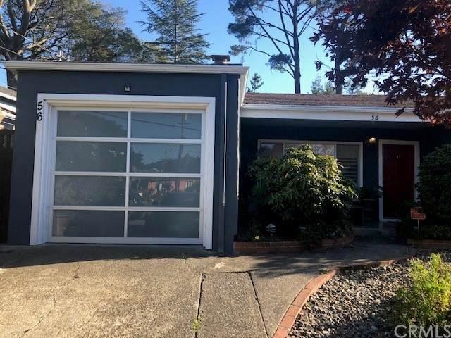 56 California Avenue, Mill Valley, CA 94941 (#IV21222708) :: Team Tami