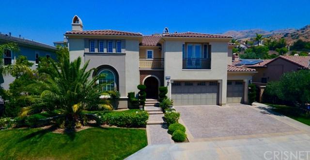 20239 Via Madrigal, Northridge, CA 91326 (#SR17138828) :: The Brad Korb Real Estate Group