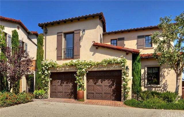 7 Tuscan Blue, Newport Coast, CA 92657 (#NP17260102) :: Fred Sed Realty