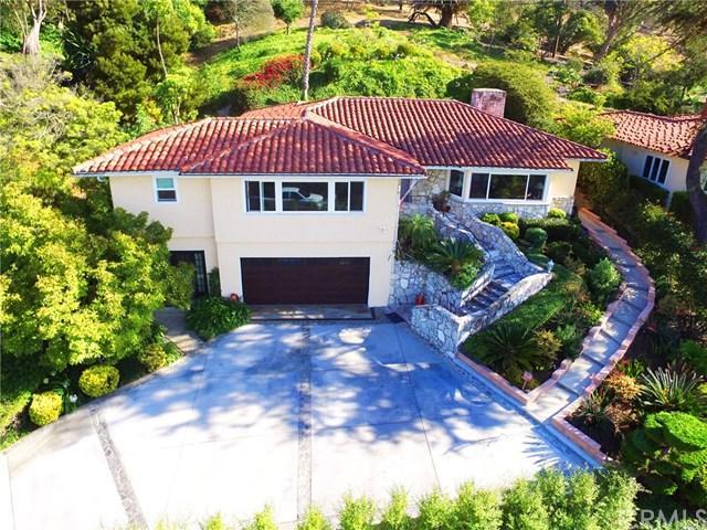 2416 Via Ramon, Palos Verdes Estates, CA 90274 (#PW18189110) :: Fred Sed Group