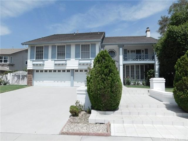 18325 Hampton Court, Porter Ranch, CA 91326 (#SR18195575) :: Z Team OC Real Estate