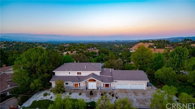 24833 Jacob Hamblin Road, Hidden Hills, CA 91302 (#SR18209173) :: Millman Team