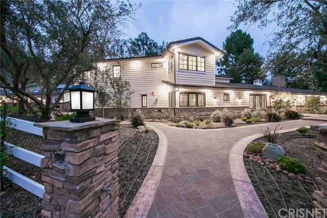 25005 Lewis And Clark Road, Hidden Hills, CA 91302 (#SR18221668) :: Millman Team