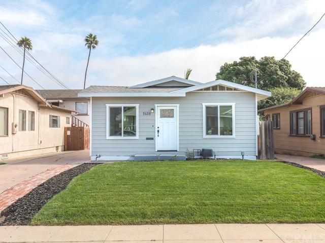 2628 S Denison Avenue, San Pedro, CA 90731 (#SB18264941) :: Fred Sed Group