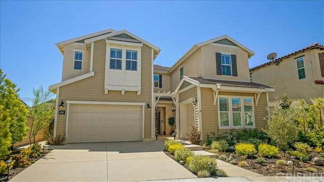 27676 Skylark Lane, Saugus, CA 91350 (#SR19137107) :: Fred Sed Group