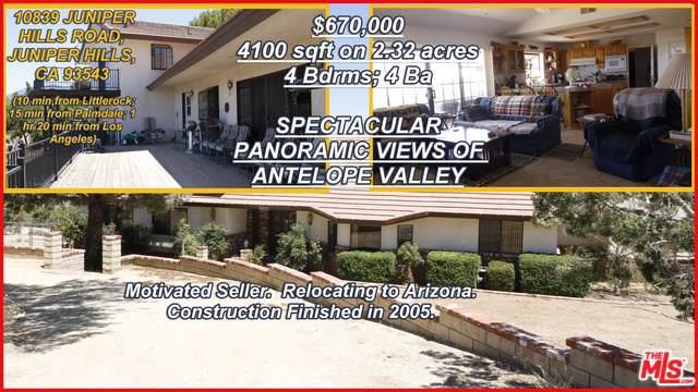 10839 Juniper Hills Road, Juniper Hills, CA 93543 (#19499564) :: J1 Realty Group