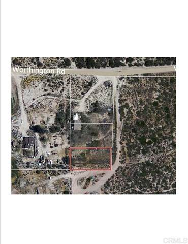 Tierra Del Sol & Worthington, Boulevard, CA 91905 (#200010471) :: Zutila, Inc.