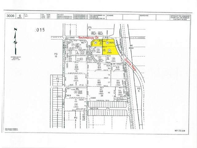 0 Sierra Hwy And Ave. P-8 (Technology Dr.) - Photo 1