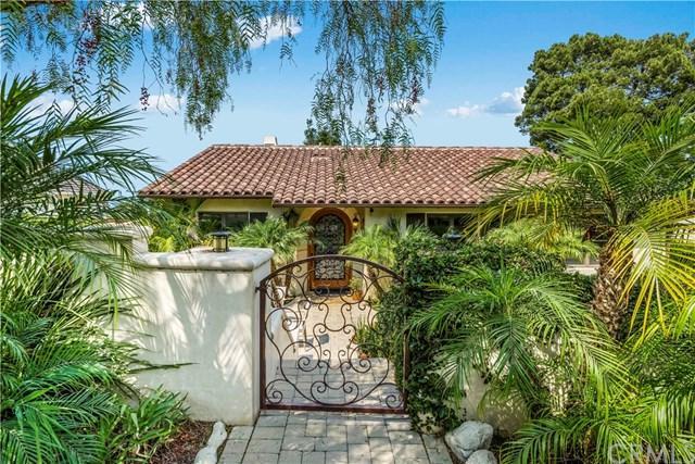 4057 Via Valmonte, Palos Verdes Estates, CA 90274 (#PV18191749) :: The Laffins Real Estate Team
