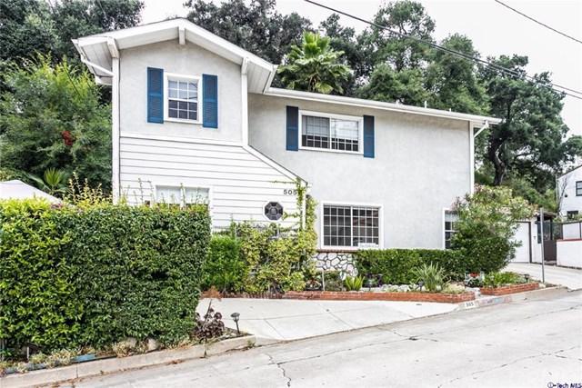 505 Sinclair Avenue, Glendale, CA 91206 (#319001632) :: The Parsons Team