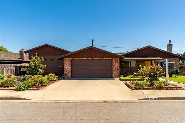883 Todd Ln, Arroyo Grande, CA 93420 (#PI19150223) :: Steele Canyon Realty