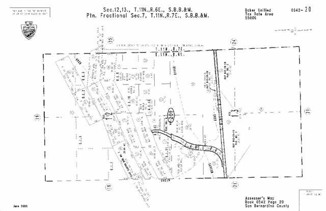 0 Basin Road, Baker, CA 08619 (#IV17053318) :: Fred Sed Group