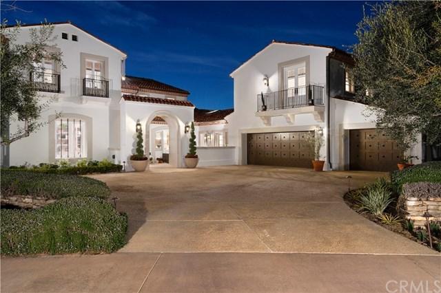 1 Pelican Hill Circle, Newport Coast, CA 92657 (#OC19001284) :: Allison James Estates and Homes