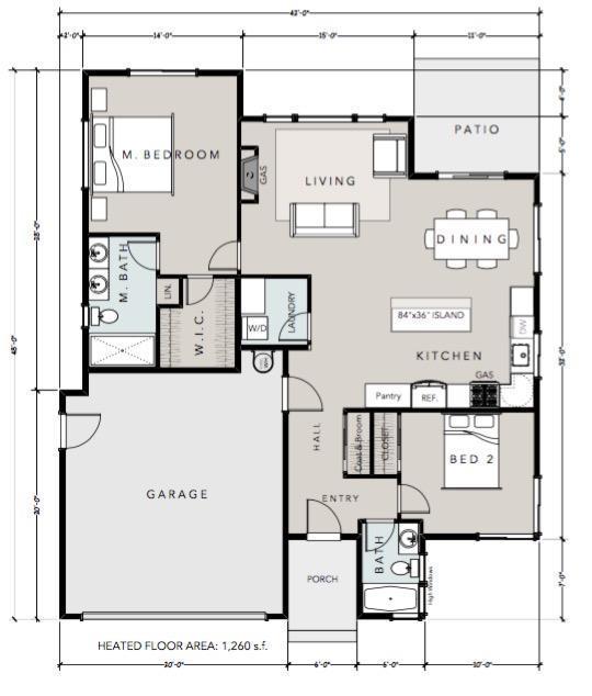 887 Perozzi Way Lot48, Ashland, OR 97520 (#2984021) :: Rocket Home Finder