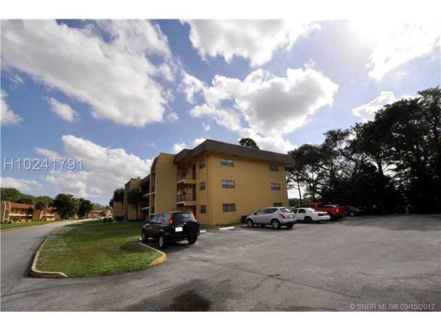 8000 Fairview Dr #210, Tamarac, FL 33321 (MLS #H10241791) :: Green Realty Properties