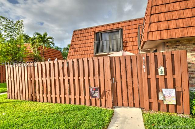 4161 Forest Hill Dr #4161, Cooper City, FL 33026 (MLS #H10655220) :: RE/MAX Presidential Real Estate Group