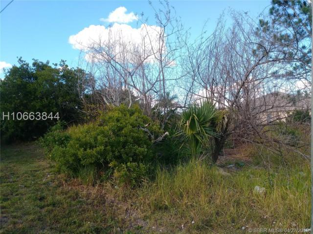 2701 Altamira Ave, Port St. Lucie, FL 34987 (MLS #H10663844) :: Green Realty Properties