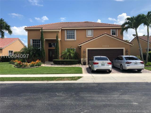 19964 3rd Pl, Pembroke Pines, FL 33029 (MLS #H10694097) :: Green Realty Properties