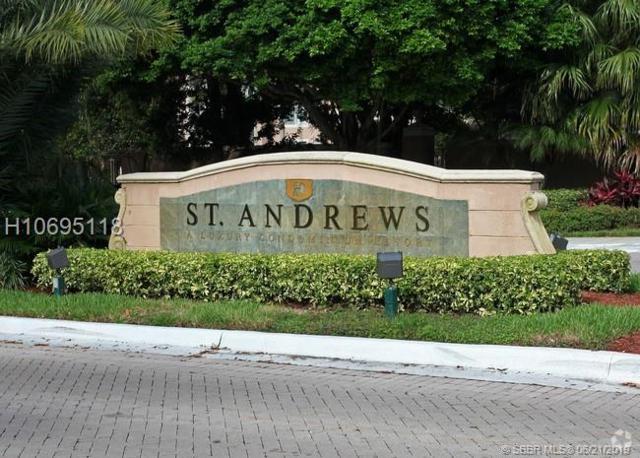 12154 Saint Andrews Pl #102, Miramar, FL 33025 (MLS #H10695118) :: Green Realty Properties