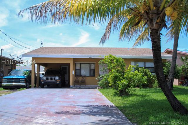 748 NW 7th St, Hallandale, FL 33009 (MLS #H10705444) :: RE/MAX Presidential Real Estate Group