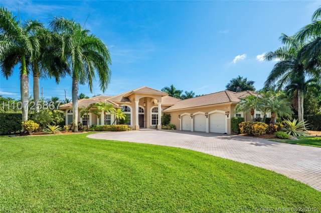 15391 SW 15th Pl, Davie, FL 33326 (MLS #H10725867) :: RE/MAX Presidential Real Estate Group