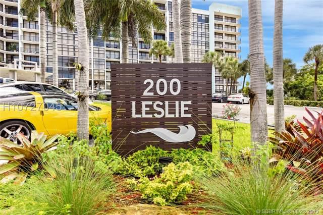 200 Leslie Dr #207, Hallandale, FL 33009 (MLS #H10727045) :: RE/MAX Presidential Real Estate Group