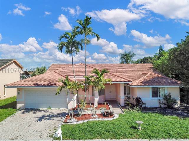 1421 SW 104th Ave, Pembroke Pines, FL 33025 (MLS #H10761449) :: RE/MAX Presidential Real Estate Group