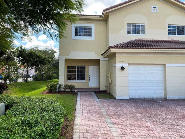 7612 Stonecreek Cr #1, Davie, FL 33024 (MLS #H10774434) :: Green Realty Properties