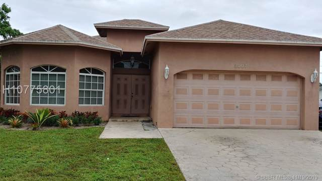 3007 NW 10th Ct, Fort Lauderdale, FL 33311 (MLS #H10775801) :: Green Realty Properties