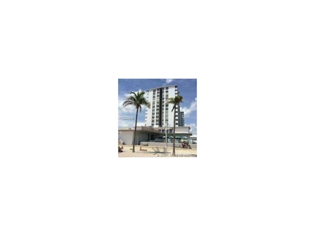 3111 N Ocean Dr #712, Hollywood, FL 33019 (MLS #H10280543) :: Green Realty Properties