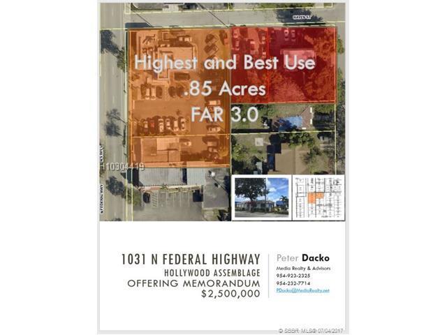 1031 Federal Hwy, Hollywood, FL 33020 (MLS #H10304419) :: Green Realty Properties