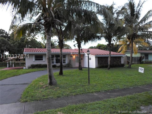 4737 1st Ct, Plantation, FL 33317 (MLS #H10337871) :: Green Realty Properties
